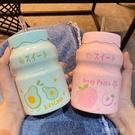 水杯ins馬克杯帶吸管網紅韓版陶瓷杯男女學生牛奶咖啡杯子