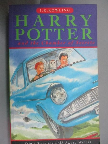 【書寶二手書T1/原文小說_JQZ】Harry Potter and the Chamber of Secrets(2)_J. K. Rowling