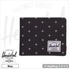 Herschel 皮夾 黑色網格 經典內...