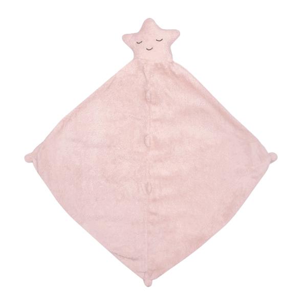 美國Angel Dear 動物嬰兒安撫巾 粉紅小星星