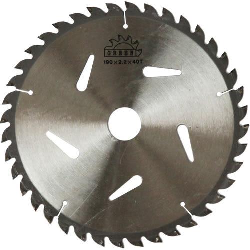 【東林電子台南經銷商】單購-割草機配件-圓盤鋸片(40齒)190x2.2mm