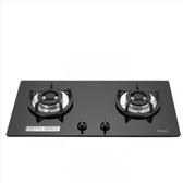 (含標準安裝)林內【RB-202GH-B_NG1】雙口玻璃防漏檯面爐黑色鋼鐵爐架(與RB-202GH-B同款)瓦斯爐