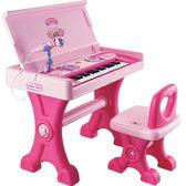 兒童電子琴帶麥克風電子琴玩具書桌式寶寶鋼琴 滿598元立享89折