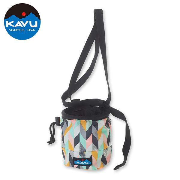 [好也戶外]KAVU Peak Seeker 粉袋/小包 (夏季條紋/人文字素描/碳纖部落)