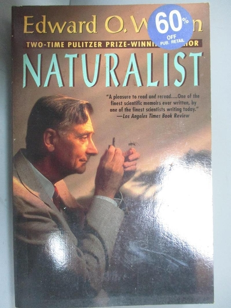 【書寶二手書T1/原文書_GBN】Naturalist_Wilson, Edward O./ Southworth, Laura Simonds (ILT)