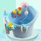 寶寶洗澡桶家用可坐兒童浴桶保溫加大嬰兒洗澡盆小孩泡澡桶浴盆厚 【優樂美】 YDL