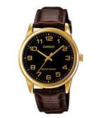 【CASIO宏崑時計】CASIO卡西歐皮帶復古指針錶 MTP-V001GL-1B 生活防水 台灣卡西歐保固一年