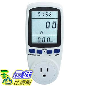 [8美國直購] Excelvan LCD Display Smart Plug Power Meter Energy Watt Voltage Amps B00E1E1XA2