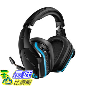 [8美國直購] Logitech G935 耳機 黑色 (981-000742) 7.1 Surround Sound Lightsync PC Gaming Headset