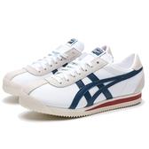 ASICS TIGER CORSAIR 米白 藍紅 休閒鞋 情侶鞋 男女(布魯克林) 1183A357102