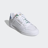 【折後$2980再送贈品】ADIDAS ORIGINALS CONTINENTAL 80 普普風 皮革 運動鞋 FW2534 白 女鞋
