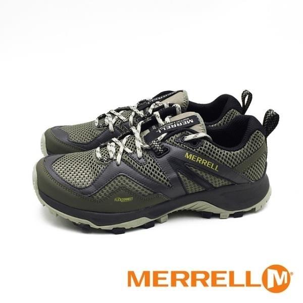 【南紡購物中心】MERRELL (男) MQM FLEX 2 AEROSPORT健走登山鞋 - 橄欖綠