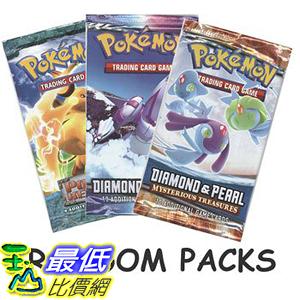 [美國直購] 神奇寶貝 精靈寶可夢周邊 Pokemon B001DIJ48C Random Booster Cards, Pack of 3