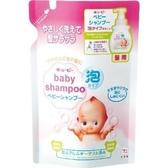 日本製【Cow牛乳石鹼】裘比寶寶泡泡澡洗髮精 補充包350ml