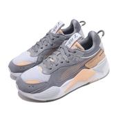 【海外限定】Puma 休閒鞋 RS-X Reinvent 灰 粉紅 女鞋 老爹鞋 復古慢跑鞋 運動鞋【ACS】 37100803