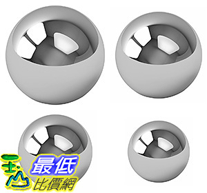 [106美國直購] Assorted Coin Ring Making Forging Steel Balls - Assortment Of 1,7/8,3/4 and 5/8