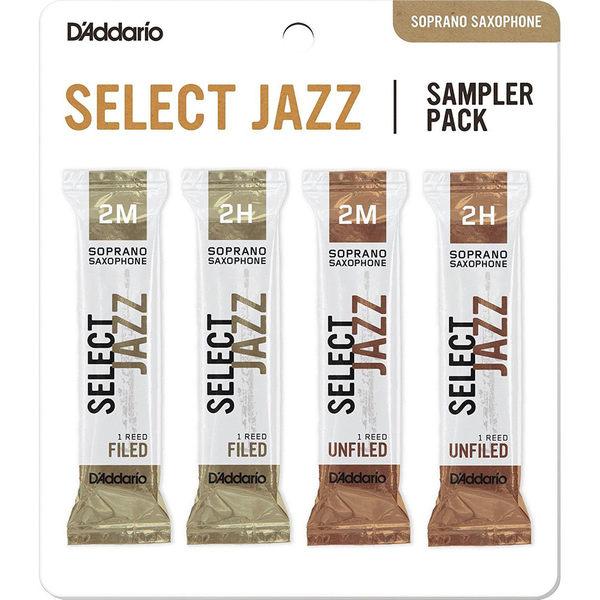 小叮噹的店-D'Addario DSJ Select Jazz 高音薩克斯風竹片 Soprano SAX RICO