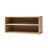 【本月家具特惠7折起】SOHO橡膠木雙層櫃-生活工場