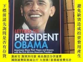 二手書博民逛書店LETTERS罕見TO PRESIDENT OBAMA(給奧巴馬