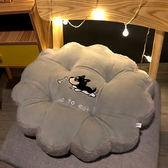 坐墊 圓形坐墊久坐座墊辦公室加厚座椅屁墊榻榻米學生椅子凳子墊子椅墊 5色