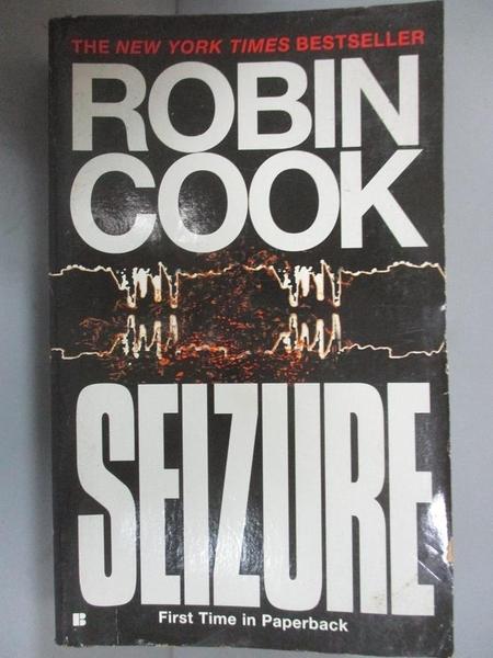 【書寶二手書T1/原文小說_LAR】Seizure_Robin Cook