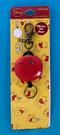 【震撼精品百貨】Winnie the Pooh 小熊維尼~DISNEY小熊維尼伸縮鎖圈/鑰匙圈-圓形#07911