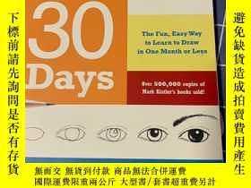 二手書博民逛書店You罕見Can Draw in 30 DaysY317843