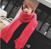 圍巾女冬季韓版學生兩用百搭秋冬天雙面加厚長款披肩毛線針織圍脖第七公社