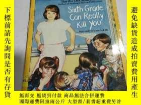 二手書博民逛書店sixth罕見grade can really kill you