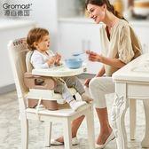 便攜式寶寶餐椅兒童餐桌椅子多功能嬰兒吃飯可折疊座椅 WY【全館89折低價促銷】