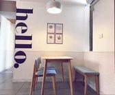 壁紙墻貼紙宿舍臥室商場餐廳服裝店鋪文化背景墻裝飾【極簡生活館】