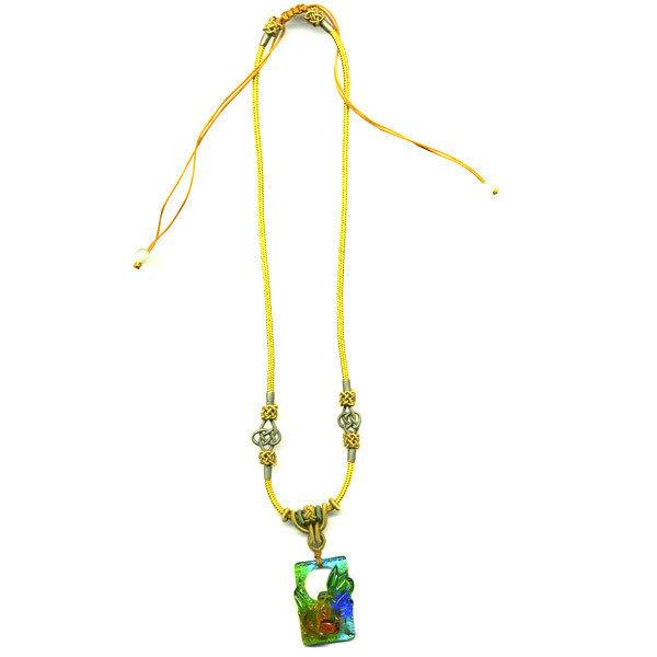 鹿港窯~居家開運水晶琉璃項鍊~祝福◆附精美包裝◆免運費送到家