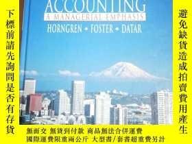 二手書博民逛書店Cost罕見Accounting: A Managerial E