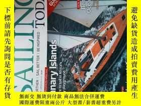 二手書博民逛書店Sailing罕見Today Magazine 08 2015 今日航海雜誌水手船舶時尚雜誌Y14610