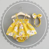 0-1-2-3歲4女寶寶夏裝韓版公主裙嬰兒裙子女童洋裝6個月12衣服9
