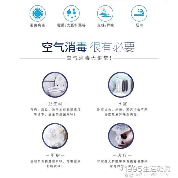 臭氧機 空氣凈化器家用除甲醛衛生間除味器廁所除臭器臭氧發生活氧消毒機 1995生活雜貨NMS