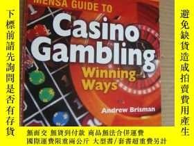 二手書博民逛書店MENSA罕見GUIDE TO Casino Gambling