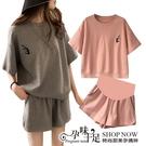 運動休閒風孕婦套裝【腰圍可調】 兩色【CUH883601】孕味十足 孕婦裝
