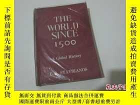 二手書博民逛書店THE罕見WORLD SINCE 1500 英文原版書11905
