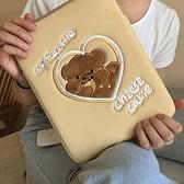韓國ins平板筆記本電腦卡通可愛女生ipad pro/air11/12/13內膽包 橙子精品