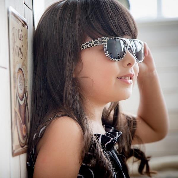 【南紡購物中心】【COOY】MIT兒童太陽眼鏡Little Leopard Fan
