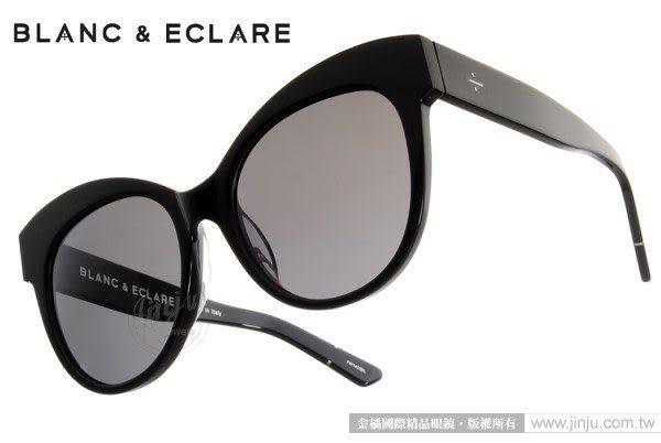 BLANC&ECLARE 太陽眼鏡 PARIS BL (黑) 潔西卡個人品牌 城市系列 -- 巴黎 # 金橘眼鏡