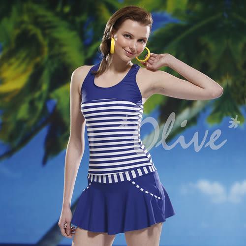☆小薇的店☆泳之美品牌【拼接條紋配色】時尚二件式泳裝特價1190元 NO.8853(M-XL)