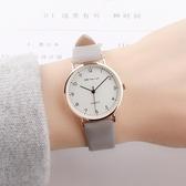 手錶學院風韓版簡約復古森女系小清新百搭防水小巧女生中學生手錶 玩趣3C