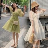 洋氣孕婦裝夏天裙子夏裝時尚網紅潮辣媽個性小清新孕婦洋裝夏季 小城驛站
