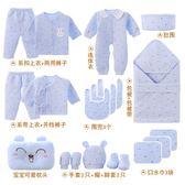 剛出生寶寶新生兒禮盒嬰兒衣服棉質套裝0-3個月6冬季滿月禮物用品 滿598元立享89折