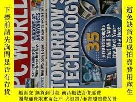 二手書博民逛書店PC罕見WORLD Magazine 2006年11月 英文個人電腦雜誌 可用樣板間道具雜誌Y14610