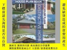 二手書博民逛書店Distinctive罕見Homes House Plan Book - 4 Bedroom House Plan