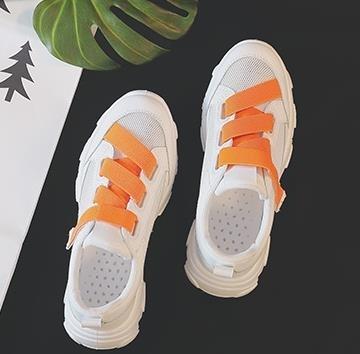 運動鞋女小白鞋女鞋2020新款網紅百搭網面透氣夏季老爹運動潮鞋夏款白鞋子