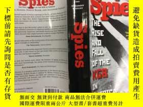 二手書博民逛書店Spies:罕見The Rise and Fall of the